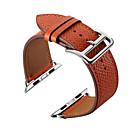 voordelige Apple Watch-bandjes-Horlogeband voor Apple Watch Series 4/3/2/1 Apple Klassieke gesp Echt leer Polsband
