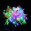 ieftine Fâșii Becurie LED-10m Fâșii de Iluminat 100 LED-uri Alb Cald / Alb / Roșu Creative / Petrecere / Nuntă 220 V 1 buc