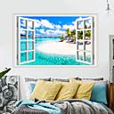 رخيصةأون ملصقات ديكور-لواصق حائط مزخرفة - لواصق حائط الطائرة مناظر طبيعية / الأزهار / النباتية غرفة الجلوس / غرفة النوم / مطبخ
