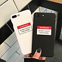 povoljno iPhone maske-kućište za jabuku iphone xs / iphone xr / iphone xs max otpornost na prašinu / uzorak stražnja naslovna riječ / fraza hard pc za iphone xr / 6/7/8 / 6p / 7p / 8p / x