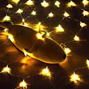 povoljno LED svjetla u traci-3M Žice sa svjetlima 200 LED diode Toplo bijelo / Bijela / Crveno Vodootporno / Party / Ukrasno 110-240 V 1pc / Povezivo / IP44