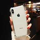 voordelige iPhone 6 hoesjes-hoesje Voor Apple iPhone XS / iPhone XR / iPhone XS Max Schokbestendig / Beplating / Spiegel Achterkant Transparant TPU