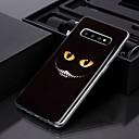 povoljno Maske/futrole za Galaxy S seriju-futrola za samsung galaxy s10 plus / galaxy s10 e imd / pattern stražnji poklopac očni zubi tpu za s8 / s8 plus / s9 / s9 plus / s10