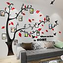 رخيصةأون ديكورات خشب-لواصق حائط مزخرفة - لواصق الأزهار / النباتية غرفة الجلوس / داخلي