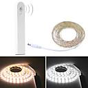 povoljno Kompleti svjetala-3m fleksibilne LED svjetlosne trake 180 LED 2835 smd 8mm tople bijelo / bijele kreativne / rezne / zabave 5 v 1 set