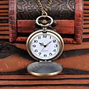 رخيصةأون القلائد-رجالي ساعة جيب كوارتز فينتاج أزرق / ذهبي كوول تناظري-رقمي عتيق - ذهبي أزرق