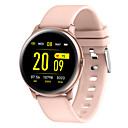 رخيصةأون ساعات ذكية-kw19 ساعة ذكية bt اللياقة البدنية تعقب دعم إخطار / رصد معدل ضربات القلب الرياضة بلوتوث smartwatch متوافقة ios / هواتف أندرويد