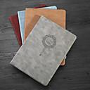 رخيصةأون ديكورات خشب-غطاء من أجل Apple iPad Air / iPad 4/3/2 / iPad Mini 3/2/1 ضد الغبار / مع حامل / نموذج غطاء كامل للجسم جملة / كلمة جلد PU / TPU