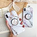 رخيصةأون أغطية أيفون-حالة لتفاح iphone xs / iphone xr / iphone xs max مع موقف / نمط الغطاء الخلفي الرخام tpu آيفون x 8 8 زائد 7 7 زائد 6 6 ثانية 6 زائد 6splus