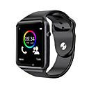 رخيصةأون ساعات ذكية-a1 ساعة اليد بلوتوث الذكية ووتش الرياضة عداد الخطى دعم بطاقة sim tf لالروبوت smartwatch الذكية