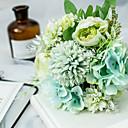 رخيصةأون أزهار اصطناعية-زهور اصطناعية 1 شعاع / زهور الزفاف الكلاسيكية المحمولة / زهور الفاوانيا / زهور سطح المكتب