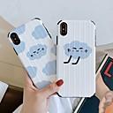 رخيصةأون أغطية أيفون-غطاء من أجل Apple iPhone XS / iPhone XR / iPhone XS Max نحيف جداً / نموذج غطاء خلفي منظر / كارتون TPU