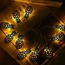 povoljno LED svjetla u traci-2m svjetla od ananasa 10 žica žuto ukrasne 220-240v 1set