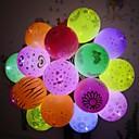povoljno Dekoracija doma-12pcs vodio balon svjetla bljeskalice svjetleće svjetiljke lampiona bar rođendan vjenčanje ukras papir papir fenjer balon svjetlo