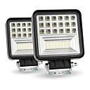 ieftine Sistem de Iluminat-400w 6000k 4inch led lumină de lucru bar inundație fascicul spot offroad 4wd suv conducere lampa de ceață pachet2pcs