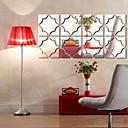 رخيصةأون ديكورات خشب-لواصق حائط مزخرفة - ملصقات الحائط على المرآة أشكال غرفة الجلوس / داخلي