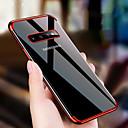 voordelige Galaxy S7 Edge Hoesjes / covers-hoesje Voor Samsung Galaxy S9 / S9 Plus / S8 Plus Schokbestendig / Beplating / Ultradun Achterkant Transparant TPU