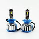 voordelige Autokoplampen-2 stks / set auto led koplampen h1 / h4 / h7 / 9005 helderwitte vervangende led-lampen