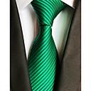 رخيصةأون ربطات عنق-ربطة العنق مخطط رجالي حفلة / عمل