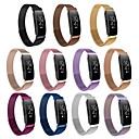 voordelige Galaxy Ace 4 Hoesjes / covers-Horlogeband voor Fitbit Inspire HR / Fitbit Inspire Fitbit Sportband Roestvrij staal Polsband