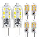 ieftine Becuri LED Bi-pin-Zdm 6 pachet g4 2,5w led bec 2835 led bi-pin g4 bază 20w halogen înlocuire bec cald alb / rece rece dc12v