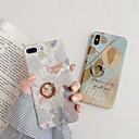 رخيصةأون أغطية أيباد-غطاء من أجل Apple iPhone XS / iPhone XR / iPhone XS Max فيدجيت سبينر / مع حامل / نموذج غطاء خلفي كارتون / زهور الكمبيوتر الشخصي