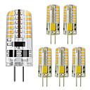 ieftine Becuri LED Bi-pin-ZDM® 6pcs 5 W Becuri LED Bi-pin 450 lm G4 48 LED-uri de margele SMD 3014 Alb Cald Alb Rece 12 V
