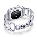 voordelige Apple Watch-bandjes-Horlogeband voor Apple Watch Series 5/4/3/2/1 Apple Sieradenontwerp Roestvrij staal Polsband