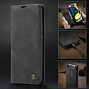 voordelige Samsung-hoes voor tablets-hoesje Voor Samsung Galaxy Samsung Galaxy A90 (2019) Portemonnee / Kaarthouder / Schokbestendig Volledig hoesje Effen PU-nahka