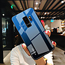 voordelige Galaxy S6 Edge Plus Hoesjes / covers-hoesje Voor Samsung Galaxy S9 / S8 / Note 9 Ultradun Achterkant Kleurgradatie Gehard glas