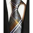 رخيصةأون ربطات عنق-ربطة العنق خملة الجاكوارد رجالي حفلة / عمل