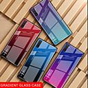 povoljno Samsung oprema-Θήκη Za Samsung Galaxy Samsung Note 10 / Galaxy Note 10 Plus Otporno na trešnju / Ultra tanko Stražnja maska Prijelaz boje Kaljeno staklo