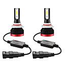 رخيصةأون المصابيح الأمامية للسيارات-2 قطع البسيطة بقيادة مصباح سيارة المصباح h11 h1 h8 h9 h3 9005 / hb3 9006 / hb4 100 واط 20000lm 6000 كيلو سيارة المصباح