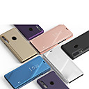 رخيصةأون حافظات / جرابات هواتف جالكسي J-غطاء من أجل Samsung Galaxy A3 (2017) / A5 (2017) / A7 (2017) مع حامل / مرآة غطاء كامل للجسم لون سادة جلد PU / الكمبيوتر الشخصي
