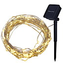 povoljno LED svjetla u traci-4m Žice sa svjetlima 40 LED diode Toplo bijelo Ukrasno Napelemes 1set