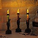 رخيصةأون تزيين المنزل-عطلة زينة زينة هالوين Halloween / هالوين الترفيه تصميم خاص / ضوء LED / حزب أرجواني / برتقالي / أخضر 1PC