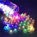 povoljno Ukrasne naljepnice-12pcs preklopni balon vodio bljeskalica svjetleće svjetiljke svjetlo bar bar fenjer božićni svadbeni ukrasi rođendan ukras
