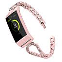 povoljno Remenje za Fitbit satove-Pogledajte Band za Fitbit Charge 3 Fitbit Sportski remen / Dizajn nakita Nehrđajući čelik Traka za ruku