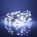رخيصةأون ملصقات ديكور-30m أضواء سلسلة 300 المصابيح أبيض دافئ / RGB / أبيض ضد الماء / تصميم جديد / حزب 12 V 1PC