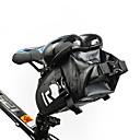 رخيصةأون أدوات الحمام-1.6 L حقيبة السراج للدراجة مقاوم للماء المحمول يمكن ارتداؤها حقيبة الدراجة جلد PVC 400D نيلون حقيبة الدراجة حقيبة الدراجة أخضر للجنسين الدراجة