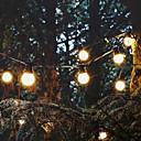 povoljno LED svjetla u traci-5m Žice sa svjetlima 10 LED diode Toplo bijelo Ukrasno 220-240 V 1set