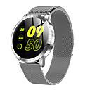 رخيصةأون الأساور الذكية-smartwatch الفولاذ المقاوم للصدأ cf18 bt اللياقة البدنية تعقب تعقب دعم / رصد معدل ضربات القلب الرياضة ووتش الذكية لسامسونج / فون / هواتف أندرويد