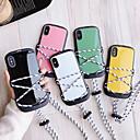 رخيصةأون Huawei أغطية / كفرات-الحال بالنسبة لابل اي فون ماكس xs / اي فون 8 زائد حامل البطاقة / الغطاء الخلفي الغبار الصلبة pc الملونة لآيفون 7/7 زائد / 8/6/6 زائد / xr / x / xs