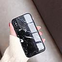 رخيصةأون أغطية أيفون-غطاء من أجل Apple iPhone XS / iPhone XR / iPhone XS Max نحيف جداً غطاء خلفي حجر كريم زجاج مقوى