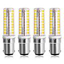 ieftine Accesorii LED-4 buc 7 W Becuri LED Corn 300 lm B15 72 LED-uri de margele SMD 2835 220-240 V 110-120 V