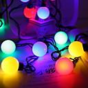 povoljno LED svjetla u traci-5m Žice sa svjetlima 20 LED diode Više boja Ukrasno 220-240 V 1set