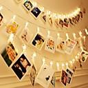 povoljno LED noćna rasvjeta-brelong vodootporni vodio žice 3m 30 vodio isječke baterija pogon vilinski svjetlucanje vjenčanje party božićni dekor svjetla za viseće fotografije kartice umjetničko djelo