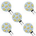 cheap LED Bi-pin Lights-5pcs 1.5 W LED Bi-pin Lights 200 lm G4 6 LED Beads SMD 5730 9-30 V