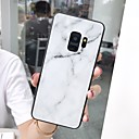 voordelige Galaxy S7 Hoesjes / covers-hoesje Voor Samsung Galaxy S9 / S9 Plus / S8 Plus Spiegel / Ultradun / Patroon Achterkant Marmer TPU