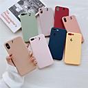 povoljno iPhone maske-Θήκη Za Apple iPhone XS / iPhone XR / iPhone XS Max Mutno Stražnja maska Jednobojni TPU